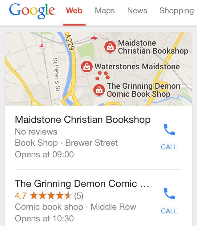 There's only Waterstones standing between Maidstone going full-on apocalypse. http://t.co/mdi10IsJ9u