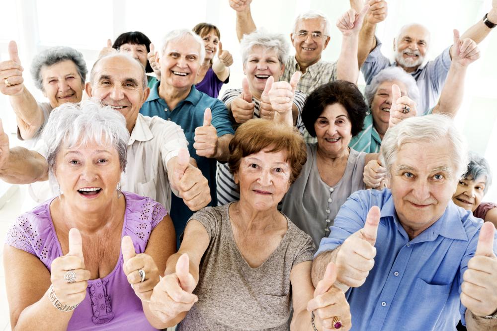 Hogares comunitarios para jubilados adultos
