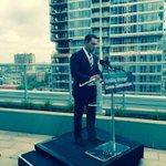 Minister @DavidOrazietti pressr announcing new condo legislation. Good news for condo owners! #onpoli http://t.co/SchiBtwHvB