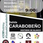 Yo si acompaño la convocatoria de los presos políticos! #TodosAlCarabobeño este sábado! Los derechos no se negocian. http://t.co/BytvCk1SMv