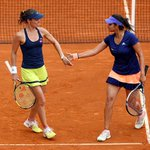 RT @Sportskeeda: . @MirzaSania & @mhingis move into 2nd Rd of @rolandgarros after easy victory over Goerges/Krejcikova 6-3, 6-0. #RG15 http…