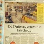 Mooie openingspagina #Tubantia editie #Enschede vandaag. Duitse ketens zoals Poco kiezen graag voor #Enschede. http://t.co/stDudiDMPu