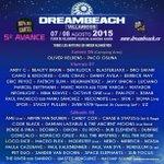 Cartel #Dreambeach al 90% y dividido por días:  Las entradas para viernes y sábado YA a la venta. #GoVillaricos http://t.co/xQxjDId8VV