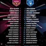 Both @QLDmaroons and @NSWRL teams are IN! #Origin http://t.co/LS12fCbQDS