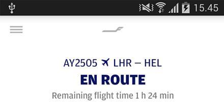 Finnairin mobiilisovelluksen Android-versio on nyt saatavilla @GooglePlay kaupasta!