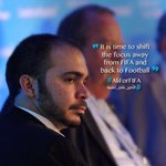 Its time for a football revolution... Dont you think? I with Prince @AliBinAlHussein for #FIFA ⚽ #AliForFIFA #Jo http://t.co/vza1YmG9U7