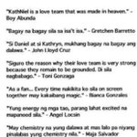 Yung positive comments ng co-artist nila about KathNiel ???? http://t.co/gY4FaXLSqG #PSYAngPagsinta © -????