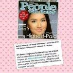 Kathryn Bernardo is the highest-paid actress of 2015. Omg! Seyoso? Legit? ???????? #PSYAngPagsinta http://t.co/i4bR7RBy9Q