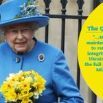 The Queen Elizabeth II expressed support to #Ukraine in #QueensSpeech in @UKParliament http://t.co/Mmb8aE9V6B