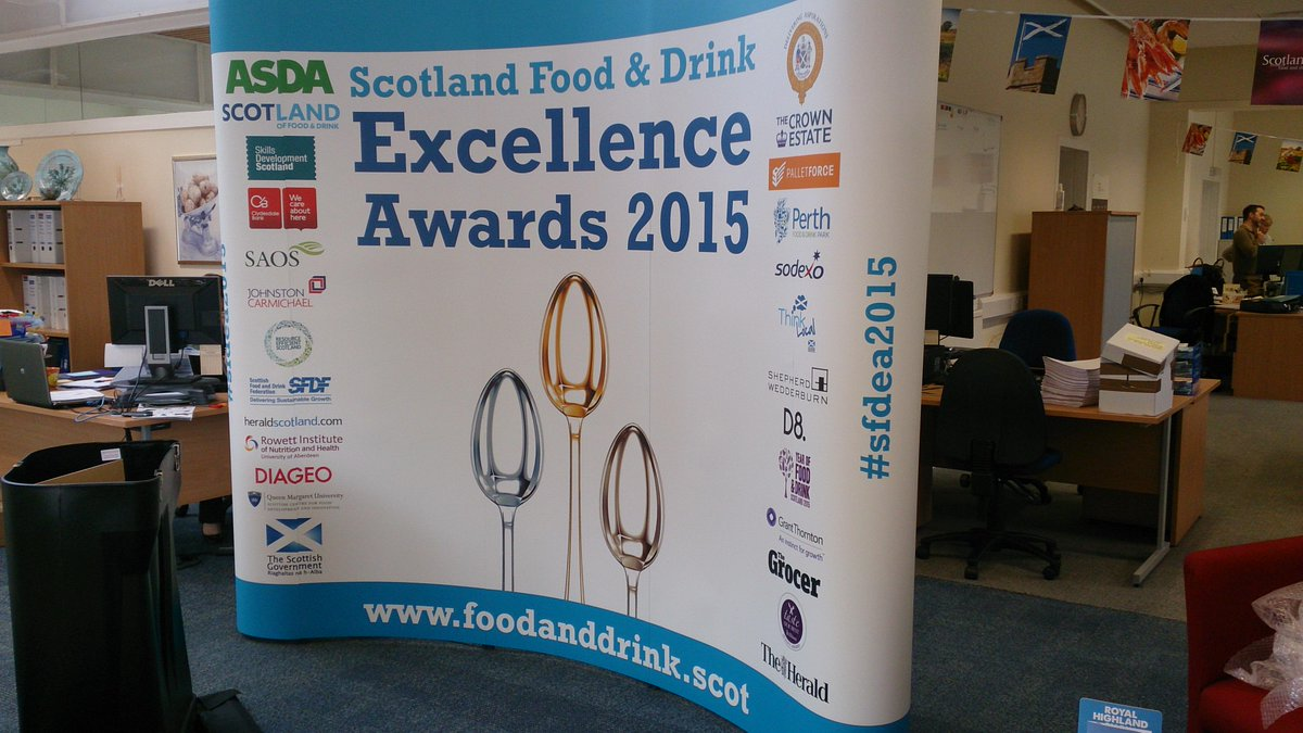 Looking forward to tonight's Scotland Food & Drink Excellence Awards #sfdea2015 #FoodAndDrinkOscars http://t.co/H9nlBUalqM