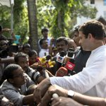 Congress Vice President Rahul Gandhi interaction with representatives of Rubber Growers, Kerala (2/2) http://t.co/WMLrBW4IeM