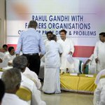 Congress Vice President Rahul Gandhi interaction with representatives of Rubber Growers, Kerala (1/2) http://t.co/RoUdDSBHte