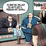 Hydro Ones customer service team is Wednesdays editorial cartoon by @TheoMoudakis. #H… http://t.co/8wjuF6bdVP http://t.co/JKtEznG6SL