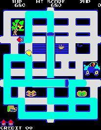 『スプラトゥーン』を見たおじさんたちが口々に言う、昔のペイント&イカゲー『コロスケローラー』[クラール電子/アルファ電子 1981年]暫定稼動中です。若いゲーマーのみなさんも遊んでみてくださいね。 http://t.co/zJiYi6nJ1g