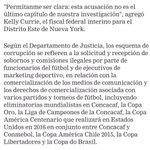 Copa América de Chile en medio del escandalo de la Fifa por corrupción lavado de dineros y otros delitos http://t.co/oAB6ghR9uG