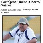 El equipo @RealCartagena debe rescatar su valor deportivo y el sentido de ser Cartagenero @alcar0806 @ElUniversalCtg http://t.co/NKSoaq000X