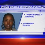 Crimestoppers offering $500 for information leading to arrest of Tonisha Mitchell>> http://t.co/ndKDOBqpHl #kait8 http://t.co/KKbwbQ1cRQ
