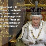 God save the Queen & save #Ukraine from Kremlin! Video of #QueensSpeech at #StateOpening: http://t.co/6tPtbxlR2Q http://t.co/MqEW25eqFb
