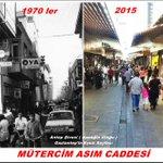 1970 ler ve Bugün Mütercim Asım Caddesi #Gaziantep http://t.co/d6r07wM3q9