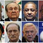 Seis de los viejos dirigentes de la FIFA detenidos y extraditados a EU por corruptos. ¡ALELUYA! http://t.co/qwAQW12byf