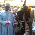 Former Head of Interim National Govt, Chief Ernest Shonekan commissioning College of Legal Studies, Wamakko. http://t.co/8lH7iJDWK1