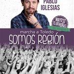 Invitado especial en la Marcha ciudadana en Toledo: Pablo Iglesias - http://t.co/LtVpC0YXHP @CLM_Podemos http://t.co/ytdj8WKNgD