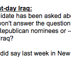 Fiorina gets tripped up on Hillary and Iraq in Andrea Mitchell interview http://t.co/QJpaBPdXiE