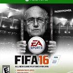 De nieuwe cover van FIFA16 is uit! #FIFA #FIFAgate #Blatter http://t.co/jlEiG3UgO7