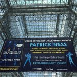 Holy rusted metal Batman, this sign is huuuuuuge! #TheRestofUs @Patrick_Ness #BEA15 http://t.co/i4TS0ePaZc