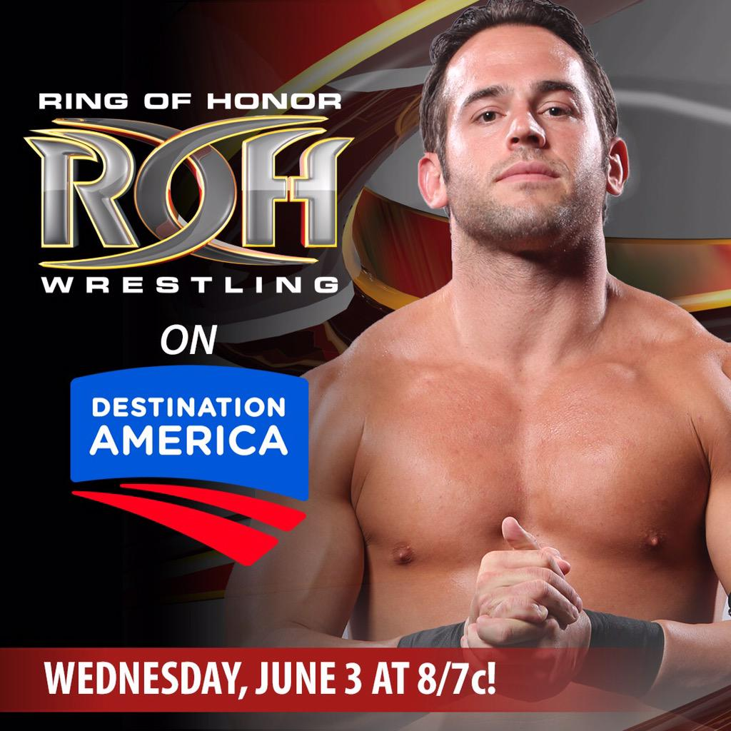 Hello @DestAmerica #MrROH will see you Wednesday June 3rd! #EliteAthlete #CampStrong #BestInTheWorld http://t.co/toSCs0ig1W
