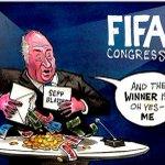 #FIFAgate #EscandaloFIFA Los memes del escándalo FIFA #fotogaleriAS http://t.co/VQ6j95xuM1 http://t.co/LYnpYGKKqk