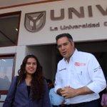 Intercambiamos ideas y compartimos opiniones con la comunidad académica y estudiantil de la UNIVA. http://t.co/ob9NPGW53h
