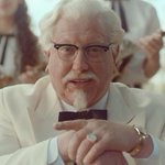 .@kfc Col. Sanders revival tarnishes the icon http://t.co/tqUYH6VYIf @usatoday @nrnonline http://t.co/KcMJO9Zk4D
