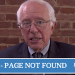 Bernie Sanders has the most glorious 404 error page ever http://t.co/CFEAfVfm3O http://t.co/v36l0HhNBZ
