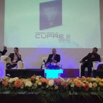 Culmina conferencia magistral con interés colectivo de estudiantes, ciudadanos y medios desde @utpl #CUPRE2015 #Loja http://t.co/7IuYjJZ7j1
