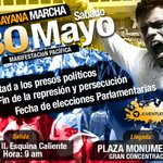 De manera pacífica y constitucional saldremos a manifestar este #30MVamosTodos http://t.co/1rvvueP74g