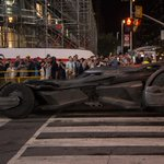 Batmobile on Yonge Street last night #suicidesquad #batman #joker #batmobile #Toronto http://t.co/AZM8ZYrQKP