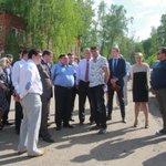 Губернатор Ивановской области П.А.Коньков посетил Приволжский муниципальный район с рабочим визитом http://t.co/KF24af1nsd