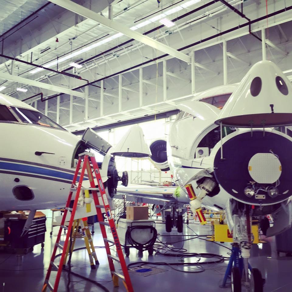 Projects in progress. #maintenance #bizav #aviation #jet #aircraft #airframe http://t.co/qPMivHo0iX