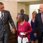 """97-year-old surprised by Pres. Obama on field trip to White House: """"It was a dream come true."""" http://t.co/hUQbb5hoxL http://t.co/G4ACPW5Ws0"""