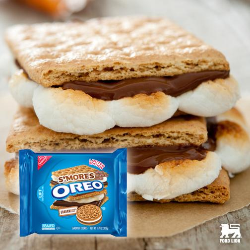 When you think @Oreo cookies couldn't get any better...they go and make these!! #ShouldHaveCalledThemSmoreos http://t.co/g9yX3mcRJ8