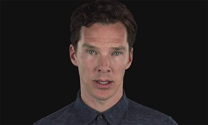 Benedict Cumberbatch leads celebs defending the HumanRightsAct in moving video: