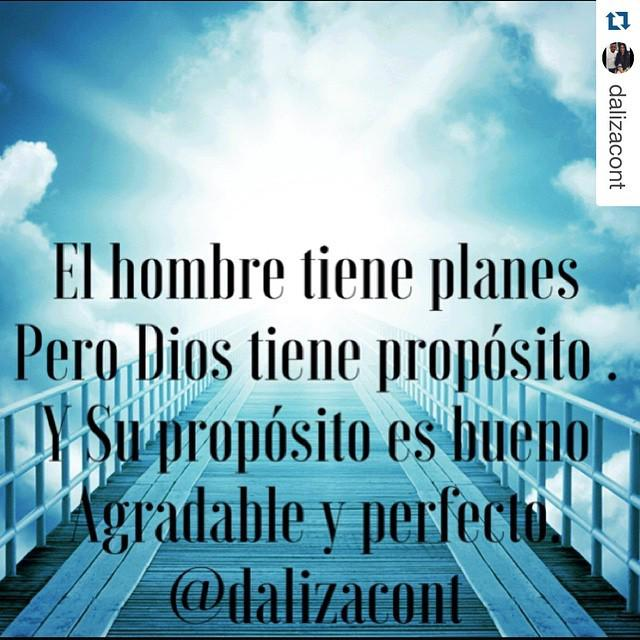 Redimi2 (@RealRedimi2): #Repost @dalizacont with @repostapp. ・・・ El hombre tiene planes pero Dios tiene propósito y su propósito es agradab… http://t.co/NvgaA1SATz