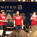 The Tony nominees from @WolfHallThePlay at #StarsInTheAlley! http://t.co/YSgYdP6TwX