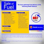 Looking for Fuel? We have optimized fuel delivery at the follow retail stations http://t.co/AkgiLesPNq