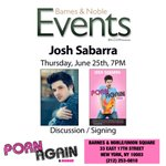 Hitting #NYC for @NYCPride! Discussing & signing @PornAgainBook @BNUnionSquareNY on 6/25 at 7PM. #books #Pride2015 http://t.co/TfkdCActQX