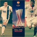 Dnipro vs Sevilla, a las 12:45 es la final de la Europa League. http://t.co/Q1K4wCDneC