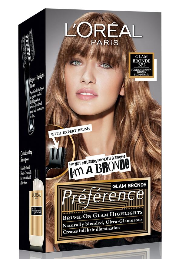 Loral Paris Launches Prfrence Glam Bronde Hair Colour