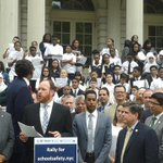 Every child in #NYC deserves to be in a safe school environment #RallyForSchoolSafety @NYCGreenfield #Intro65 http://t.co/DF4vnxvgp7