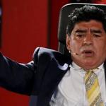 Maradona se despachó con todo contra Don Julio y Blatter ▶ http://t.co/uUBaYfvYiK http://t.co/NLSMmXRXAr